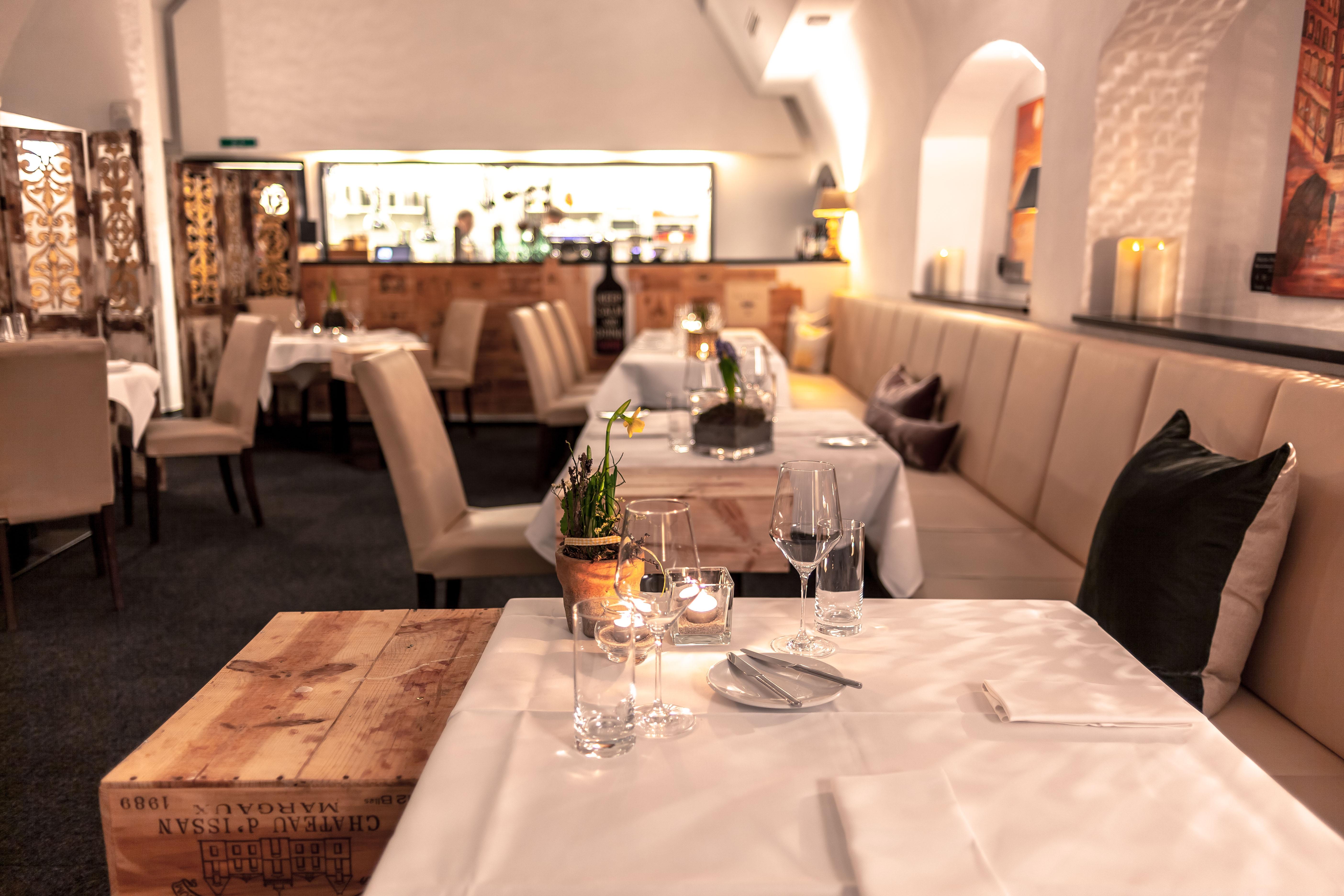 Loungebereich Restaurant Valentin