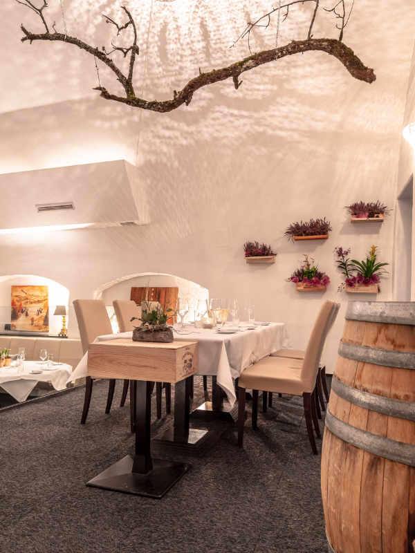 Gemütliches Ambiente im Restaurant Valentin Lindau